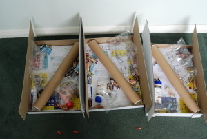 The 'care packages' we sent to care homes.